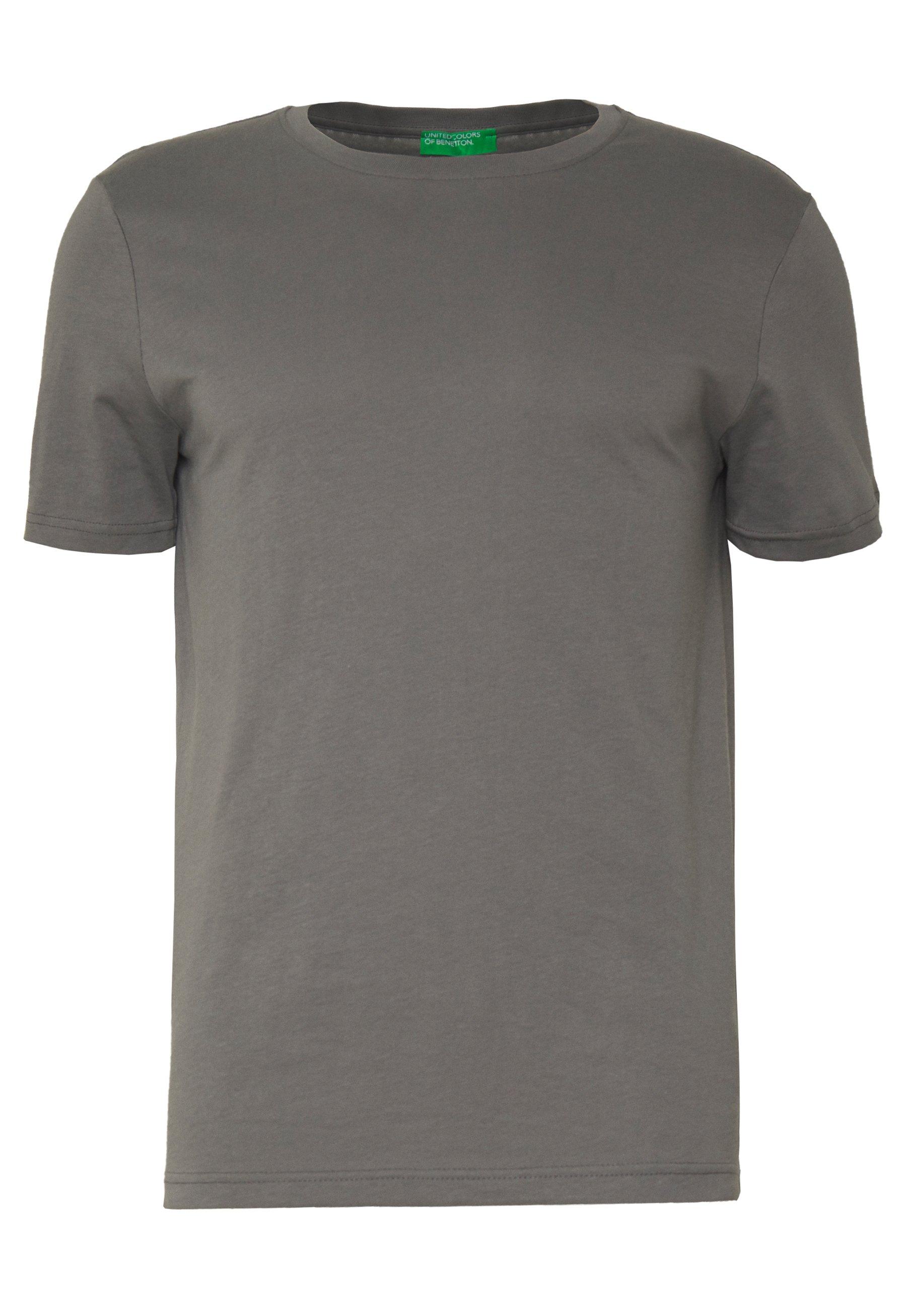 Benetton T-shirt Basique - Anthracite