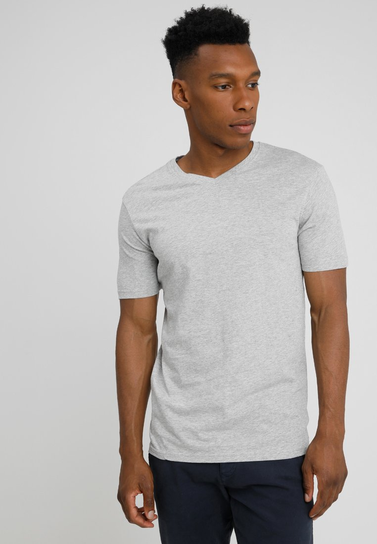Benetton - T-Shirt basic - grey