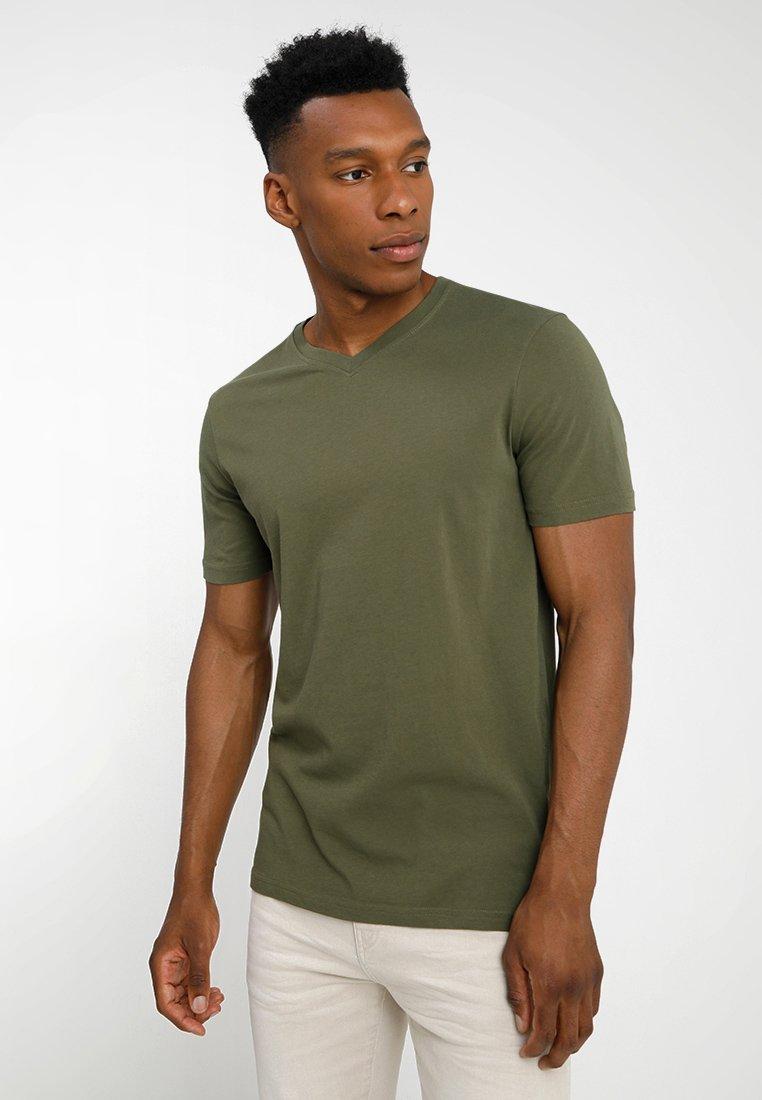 Benetton - T-Shirt basic - khaki