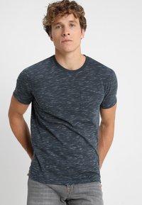 Benetton - Basic T-shirt - blue - 0