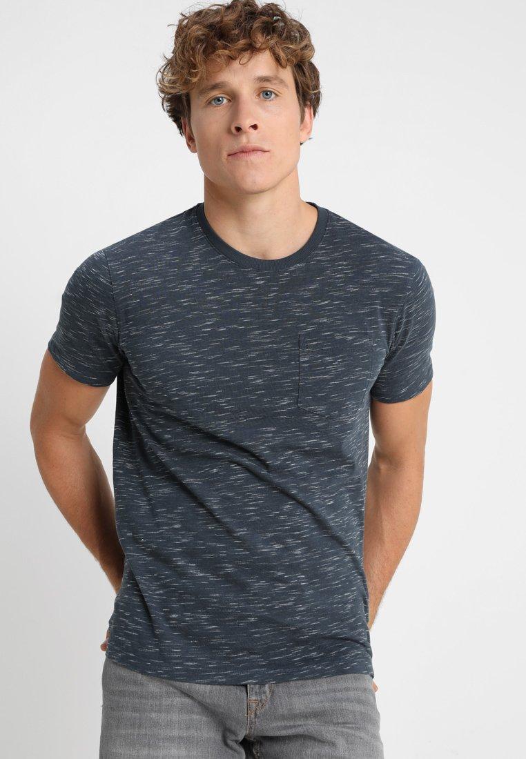 Benetton - Basic T-shirt - blue