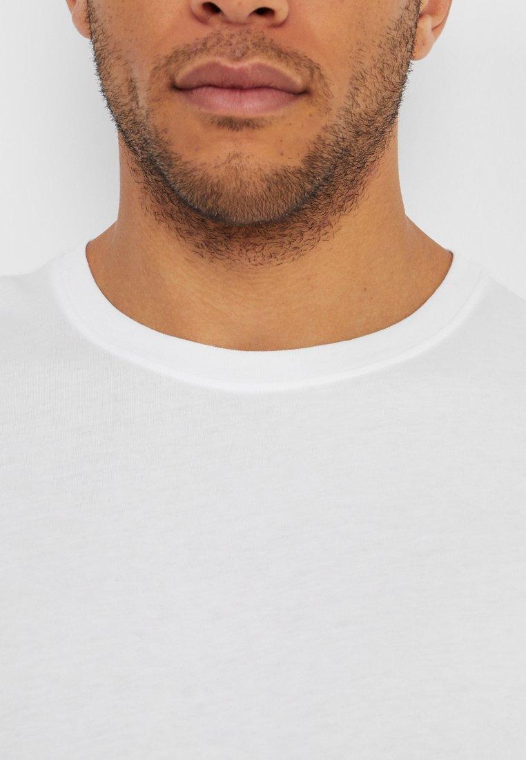 Benetton BASIC CREW NECK - Bluzka z długim rękawem - white
