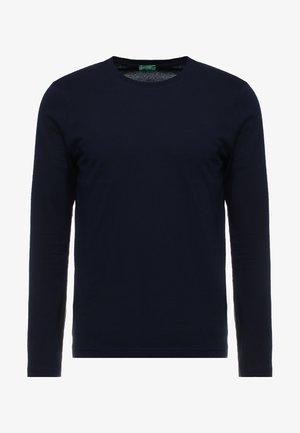 BASIC CREW NECK - Bluzka z długim rękawem - navy