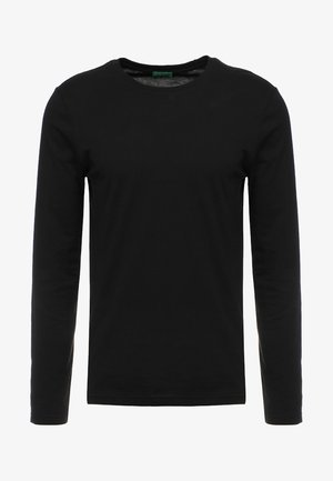 BASIC CREW NECK - Langarmshirt - black