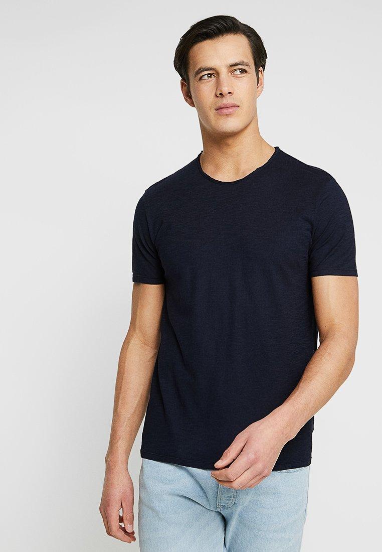 Benetton - T-shirt basic - navy