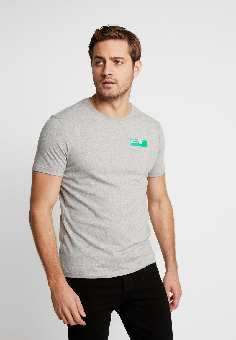 Benetton - T-Shirt print - melange grey