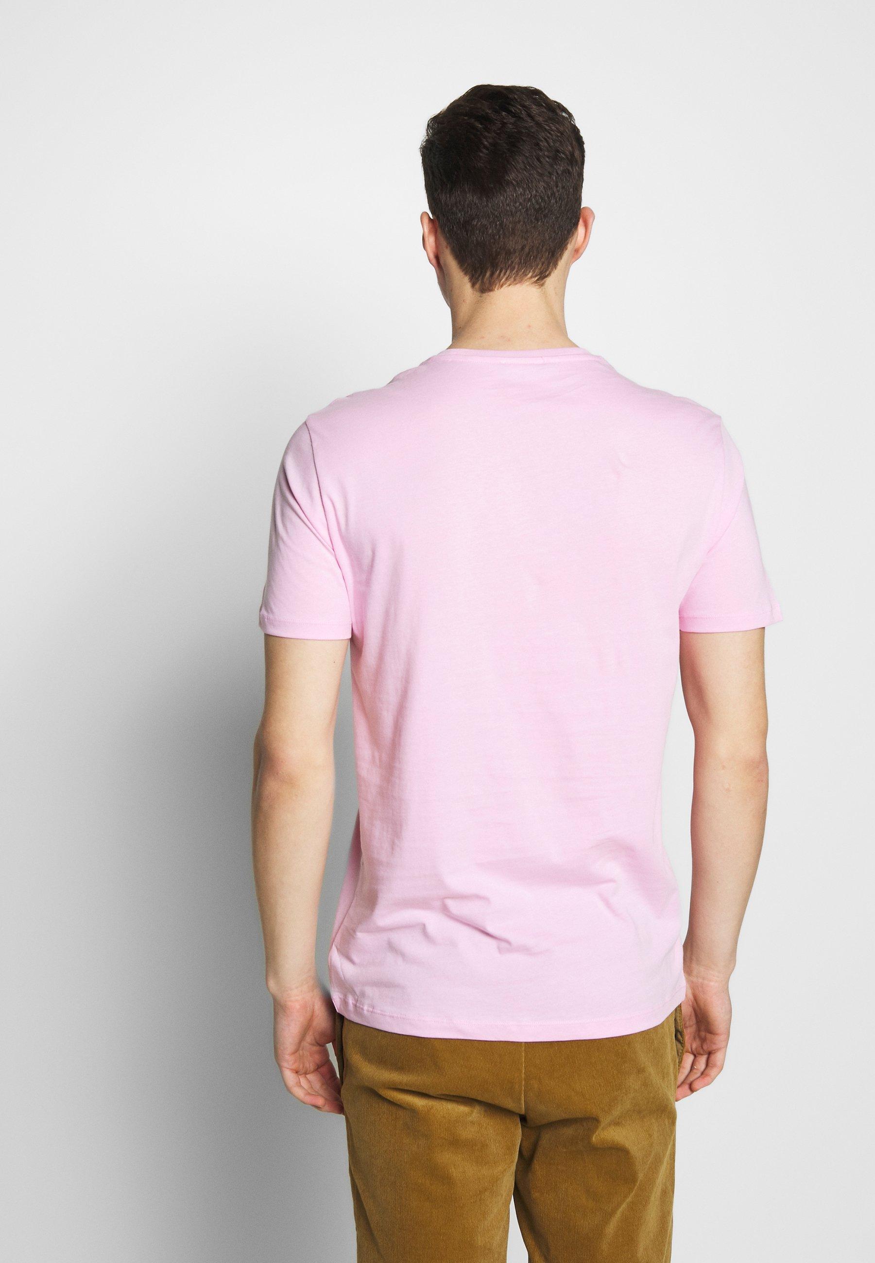 Benetton T-shirt z nadrukiem - rose