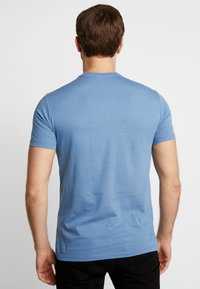 Benetton - T-shirt z nadrukiem - bluegrey - 2