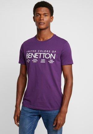 Camiseta estampada - grape