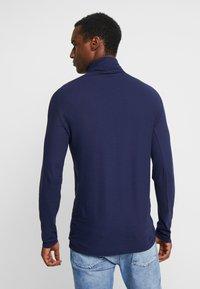 Benetton - Long sleeved top - dark blue - 2