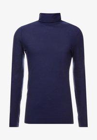 Benetton - Long sleeved top - dark blue - 3
