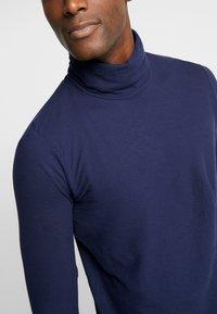 Benetton - Long sleeved top - dark blue - 4