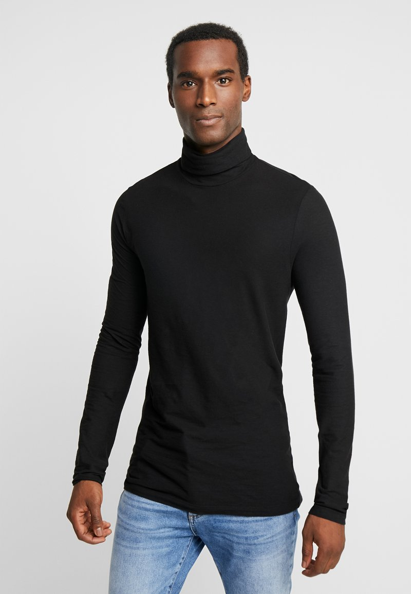 Benetton - Long sleeved top - black