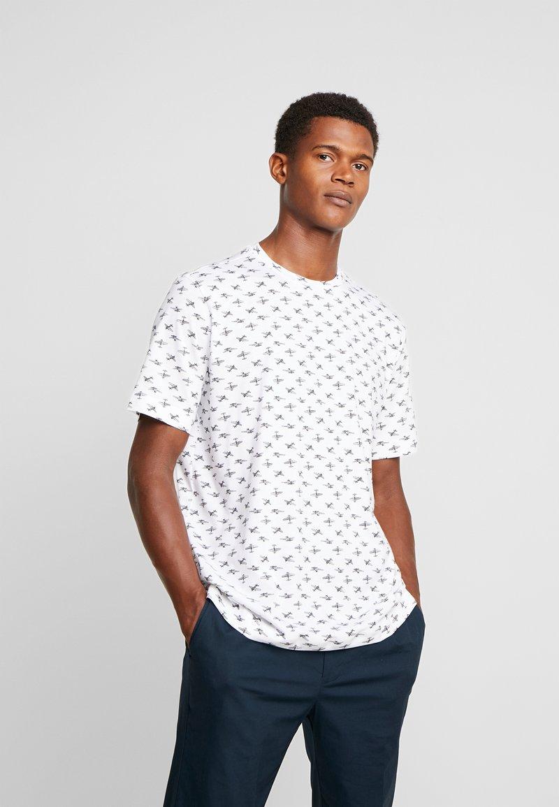 Benetton - T-shirts med print - white