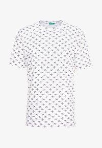 Benetton - T-shirts med print - white - 4