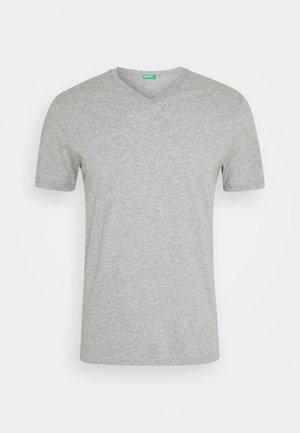 BASIC VNECK - T-shirt basic - light grey