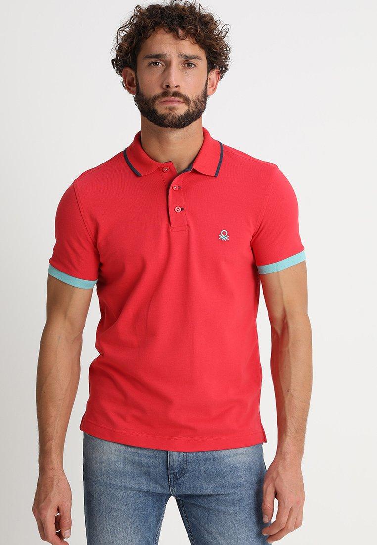 Benetton - Polo - red