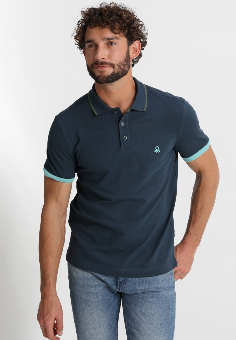Benetton - Poloshirt - blue