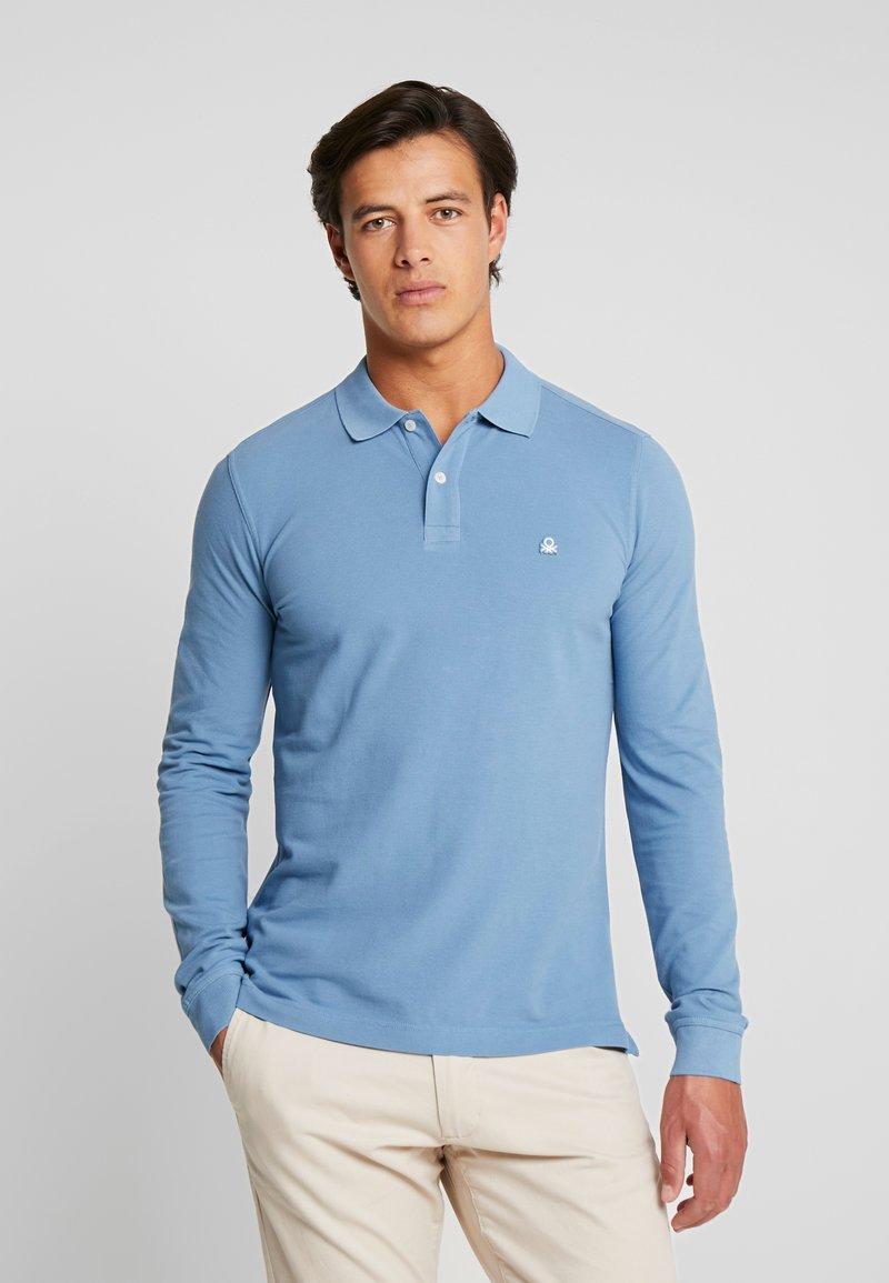 Benetton - Polo shirt - blue grey