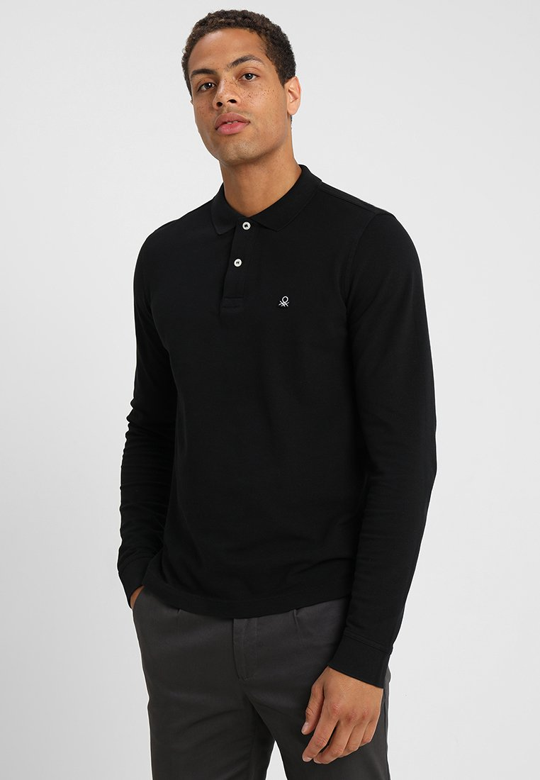 Benetton - Poloshirt - black