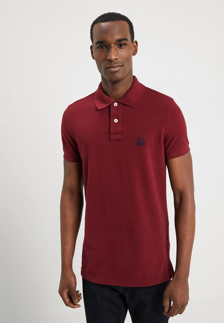 Benetton - Polo shirt - bordeaux