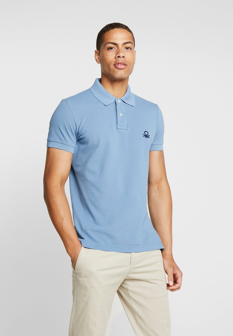 Benetton - Polo shirt - greyblue