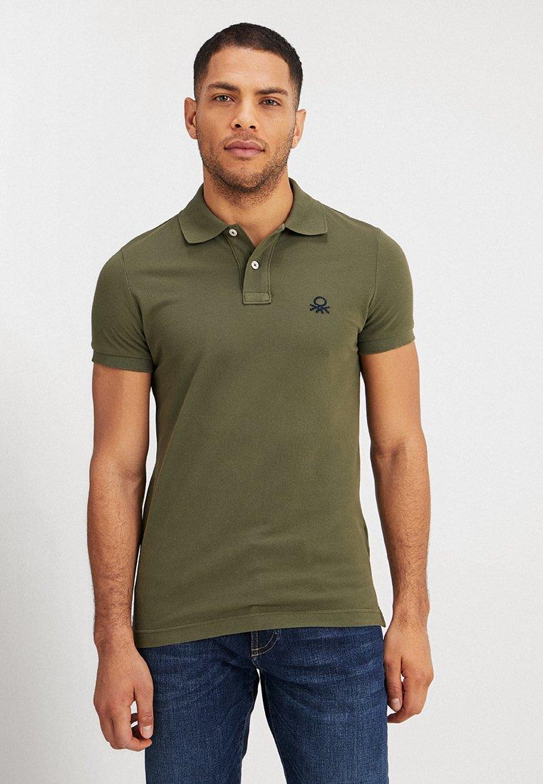 Benetton - Polo shirt - oliv