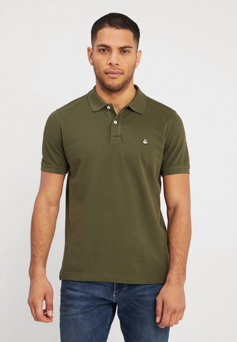 Benetton - Poloshirt - olive