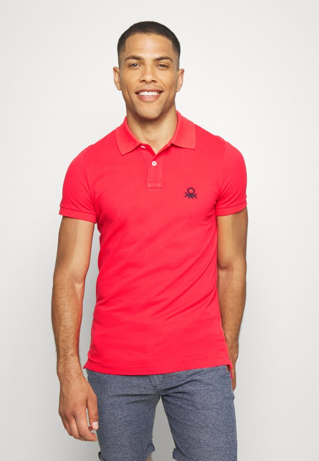 SLIM - Polo shirt - red