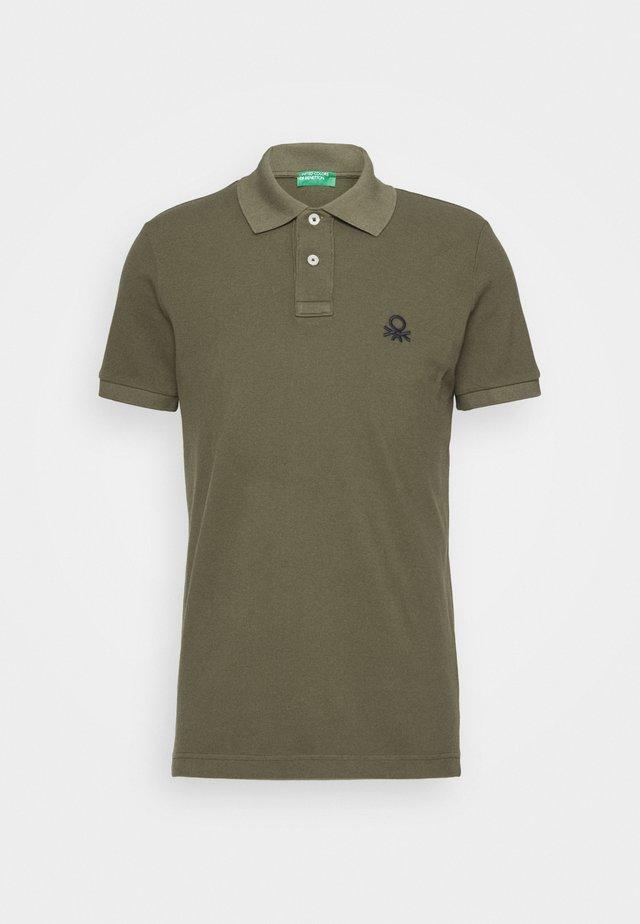 SLIM - Poloshirt - dark green