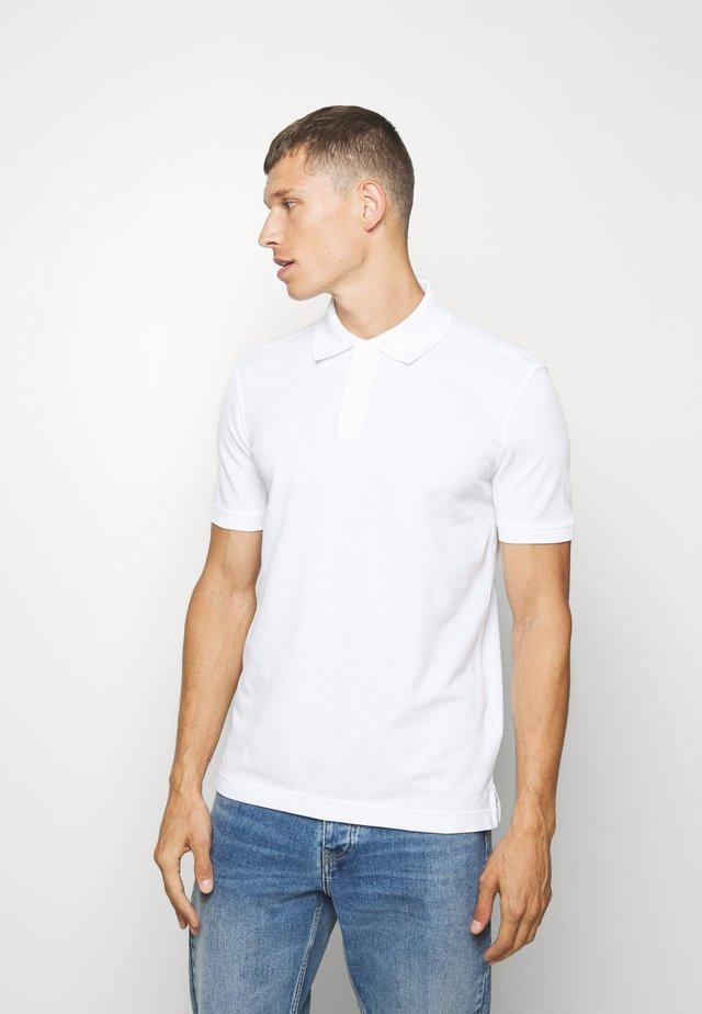 REGULAR FIT - Polo shirt - white