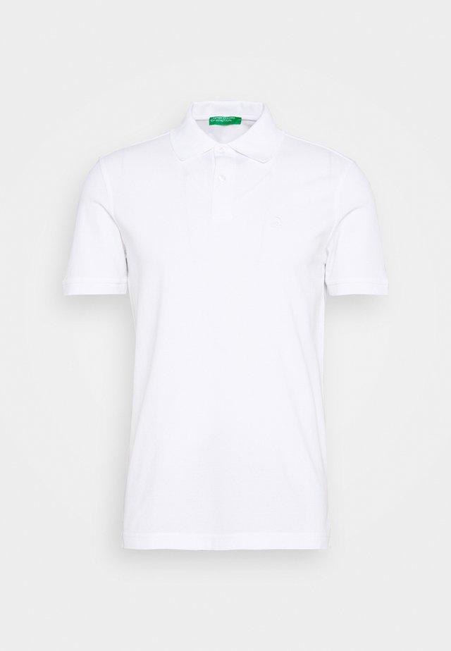 REGULAR FIT - Poloshirt - white