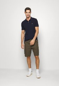 Benetton - REGULAR FIT - Poloshirt - dark blue