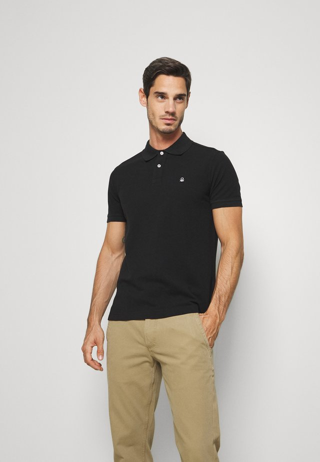 REGULAR FIT - Polo - black