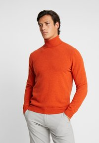 Benetton - Maglione - orange melange - 0