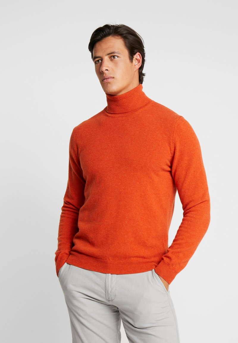 Benetton - Maglione - orange melange