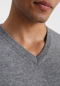 Benetton - Stickad tröja - grey - 4