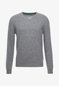 Benetton - Stickad tröja - grey - 3