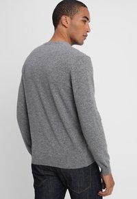 Benetton - Stickad tröja - grey - 2