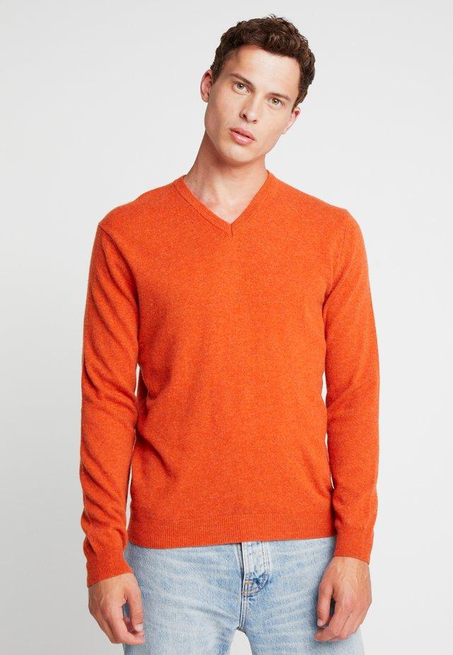 Trui - orange melange