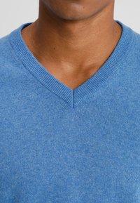 Benetton - Stickad tröja - blue - 4