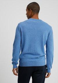 Benetton - Stickad tröja - blue - 2