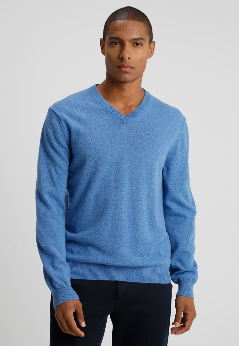 Benetton - Stickad tröja - blue