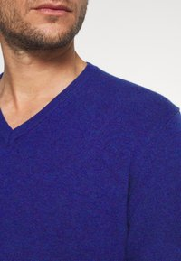 Benetton - Stickad tröja - royal - 5