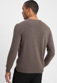Benetton - Stickad tröja - brown - 2