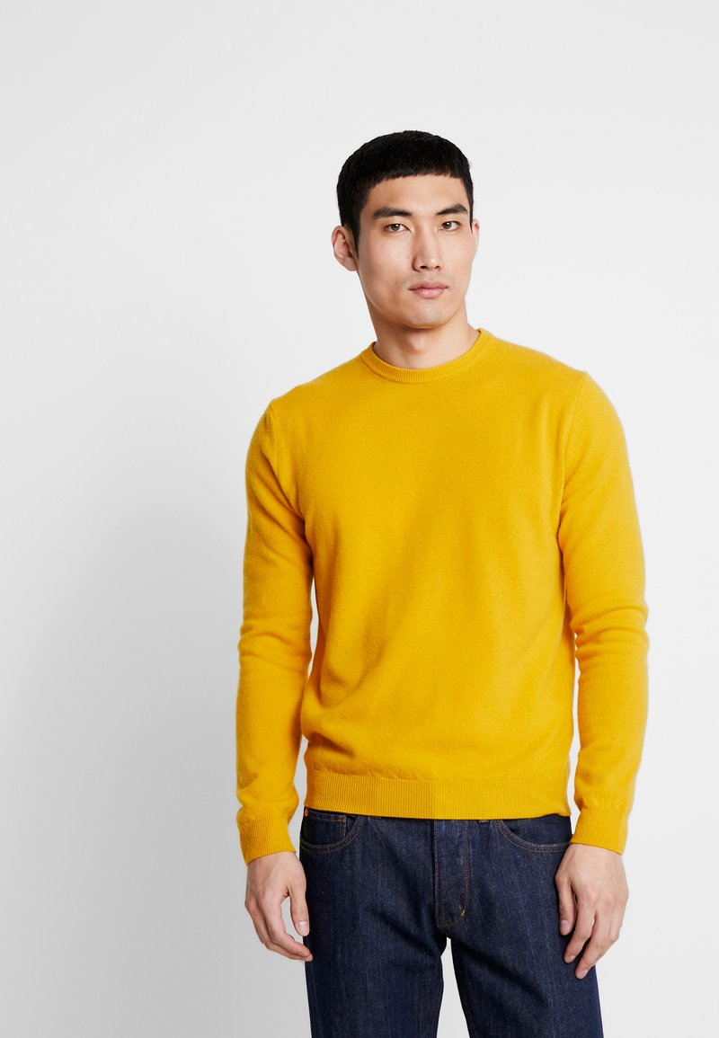 Benetton - Pullover - golden yellow