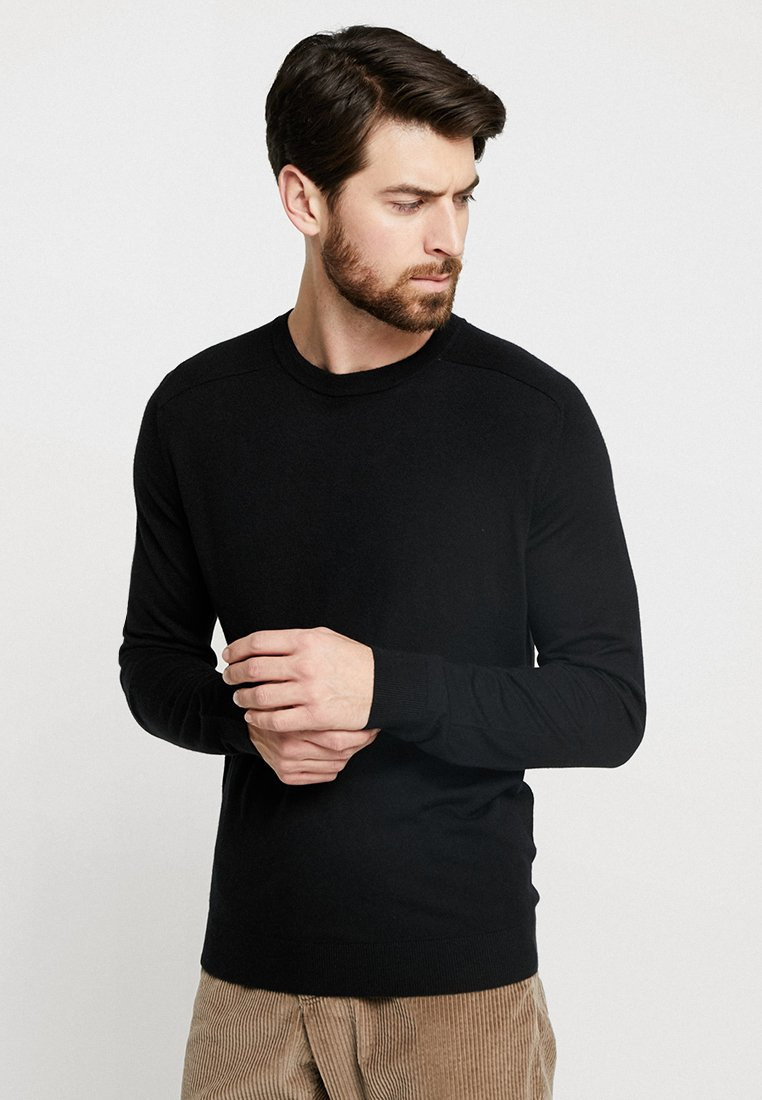 Benetton - Stickad tröja - black