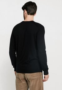 Benetton - Stickad tröja - black - 2