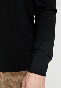 Benetton - Stickad tröja - black - 3