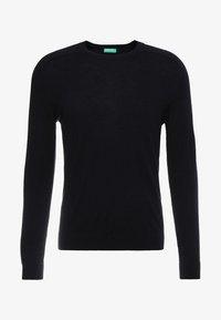 Benetton - Stickad tröja - black - 4